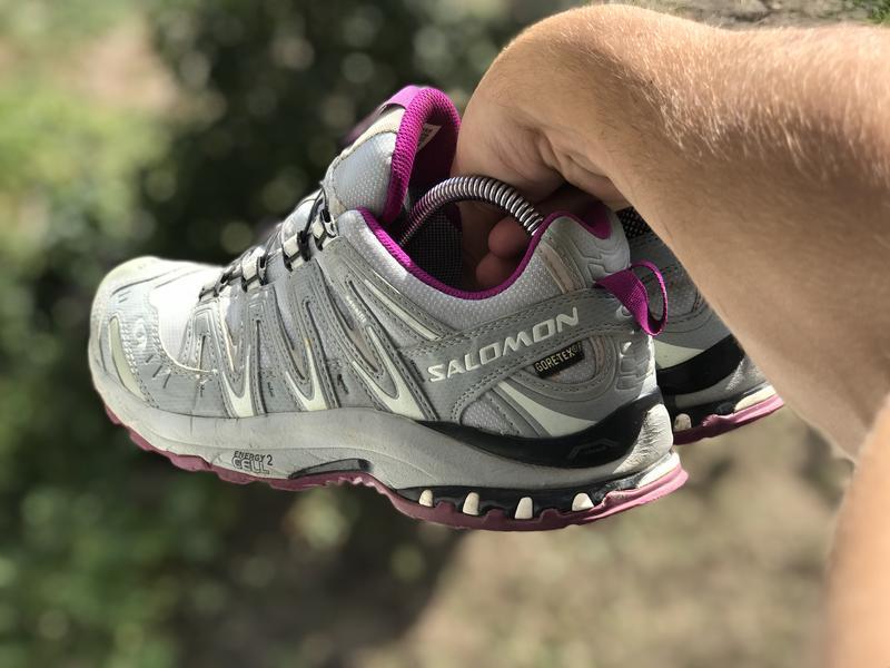 Salomon gore-tex трекінгові кросівки - Фото 5