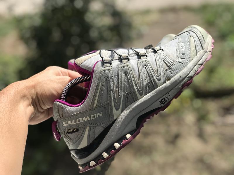 Salomon gore-tex трекінгові кросівки - Фото 7