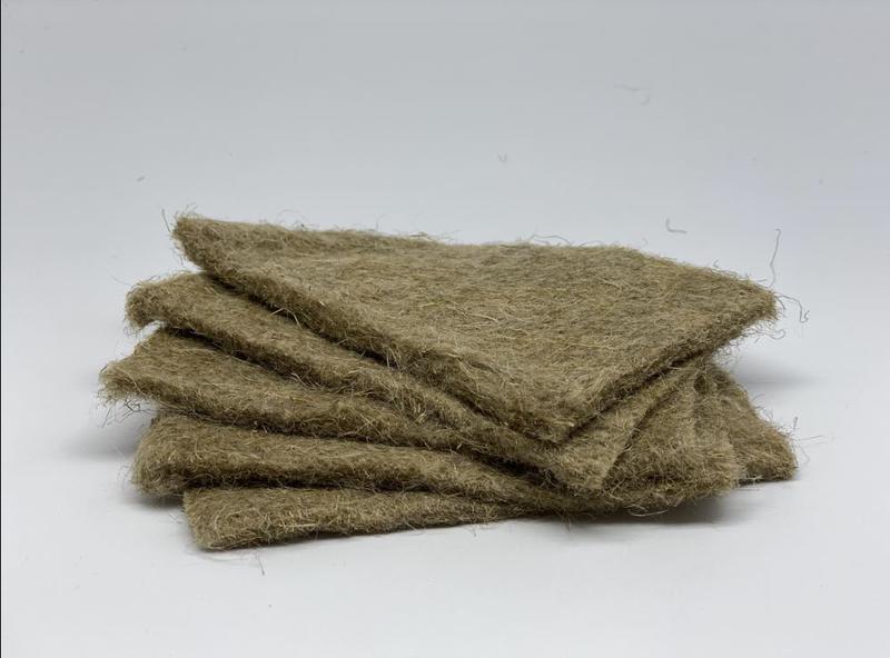 Льняные коврики  для микрозелени, микрогрина