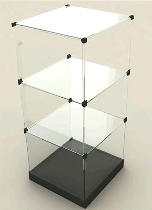 Крепеж для витрин, уголки для витрин, крепежи, витрина Горка Куб