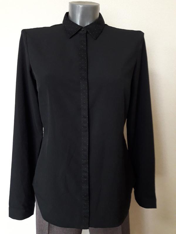 Стильная,деловая,строгая элегантная рубашка eds
