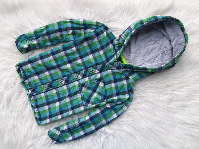 Качественная рубашка реглан кофта c капюшоном next