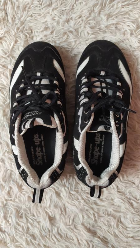 Skechers shape ups кросівки на високій підошві - Фото 3