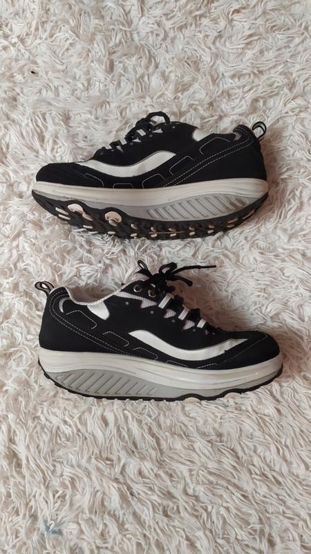 Skechers shape ups кросівки на високій підошві - Фото 5