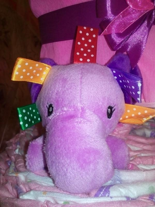 Торт з підгузків / Торт з памперсів / Торт из подгузников - Фото 3