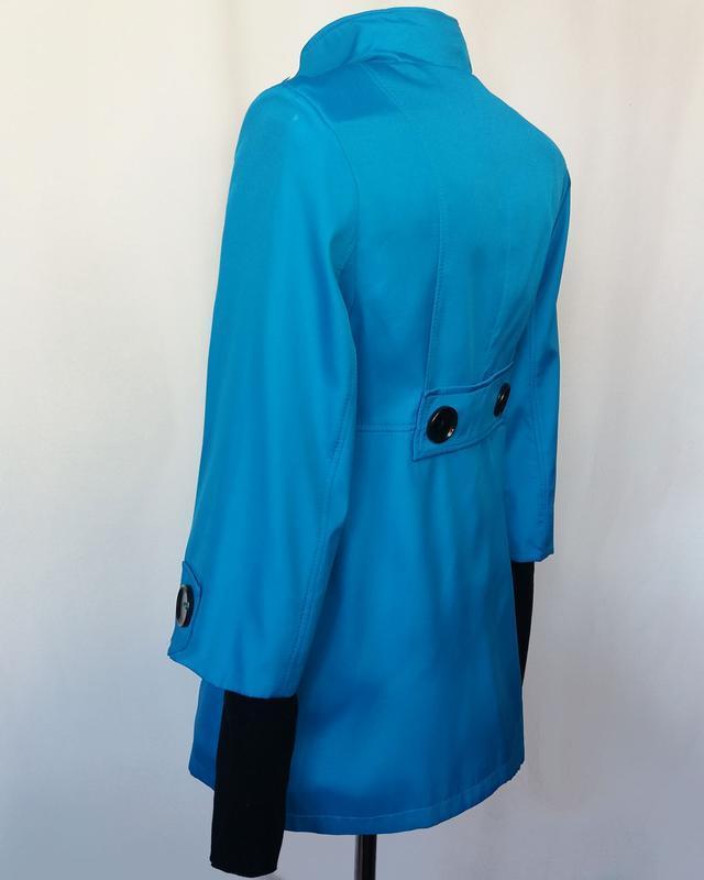Суперцена. стильный плащ куртка, двойной рукав. новый, р. 42-44 - Фото 6