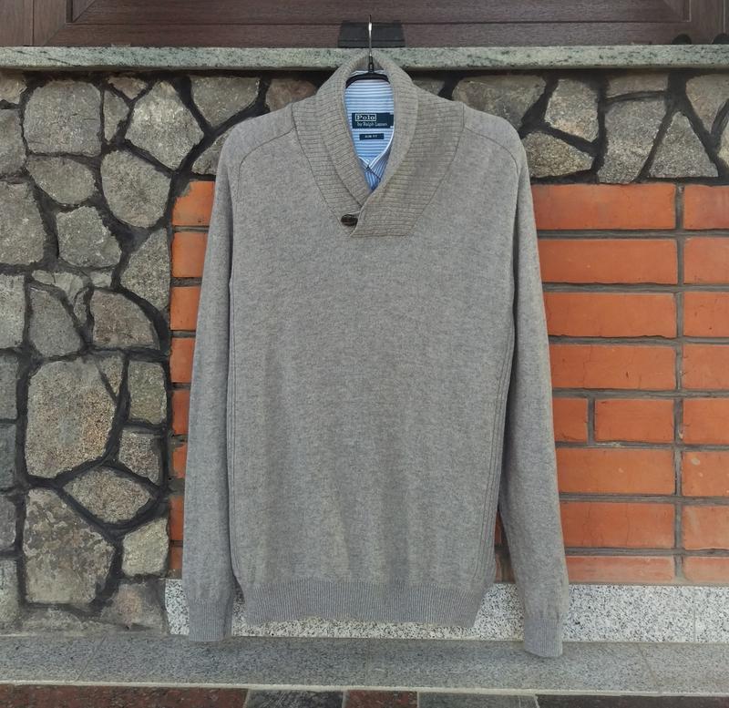 M&s классный мужской шерстяной свитер пуловер, размер м