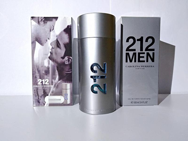 Мужской парфюм  Carolina Herrera 212 men EDT
