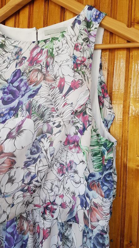 Красивое длинное платье h&m в цветочный принт. - Фото 4