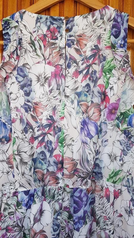 Красивое длинное платье h&m в цветочный принт. - Фото 5
