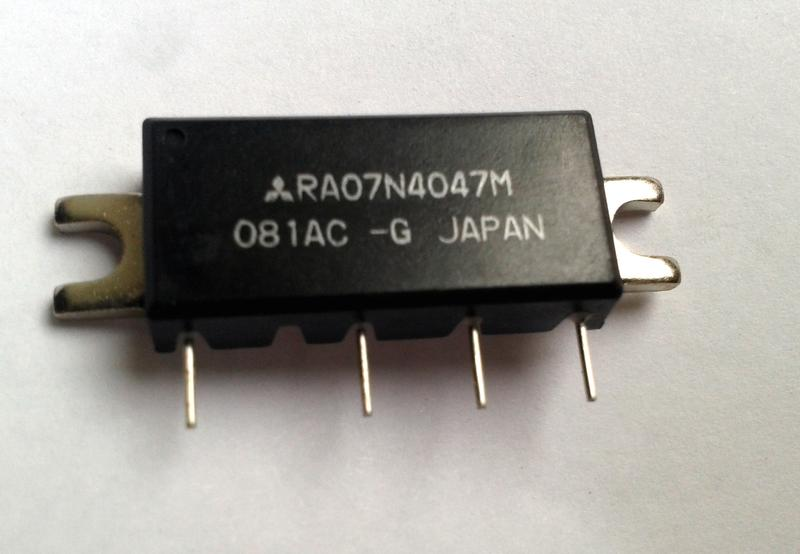 Микросхема RA07N4047m Mitsubishi Интегральный усилитель мощности