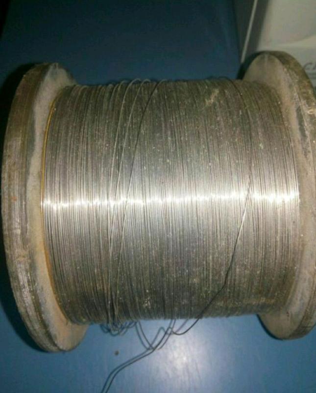 Дріт проводка нікель 0,5мм.