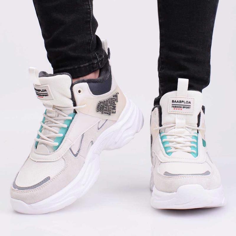 Cпортивные модные кроссовки ботинки подростковые зимние baas р...