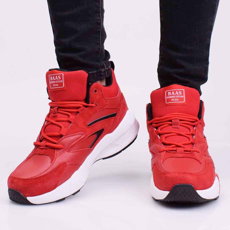 Красивенные модные кроссовки ботинки подростковые зимние baas ...