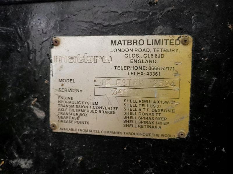 Погрузчик телескопический фронтальный Matbro Telestar 2524 - Фото 5