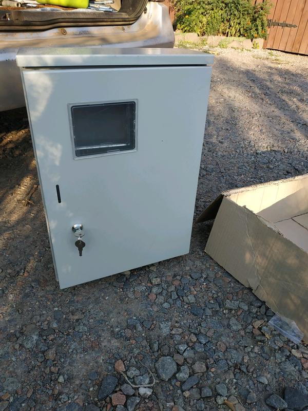 Новый Монтажный ящик для монтажа електрощотчика