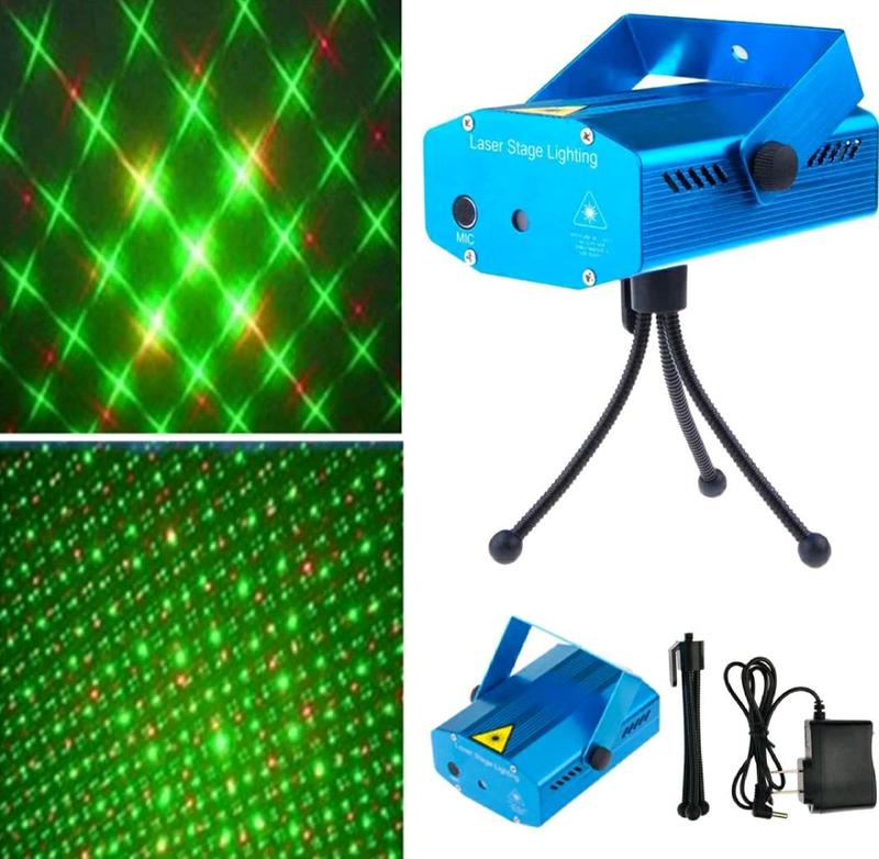 Мини лазерный проектор,  новогодний лазер - Фото 3