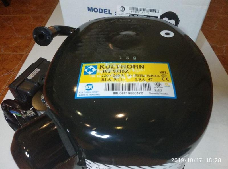 Мотор-компрессор для холодильного оборудования Kulthorn WJ9510Z.