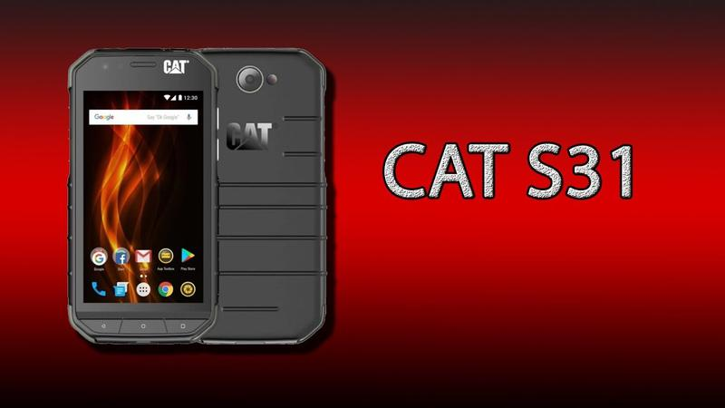 Смартфон Caterpillar CAT S31 Dual Sim Серый
