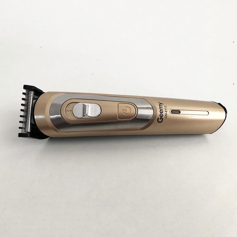 Беспроводная машинка для стрижки волос GEMEI GM-6112 - Фото 3