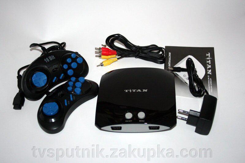 Игровая приставка Titan 3 Black (500игр)