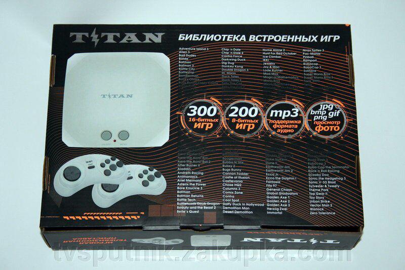 Игровая приставка Titan 3 Black (500игр) - Фото 2
