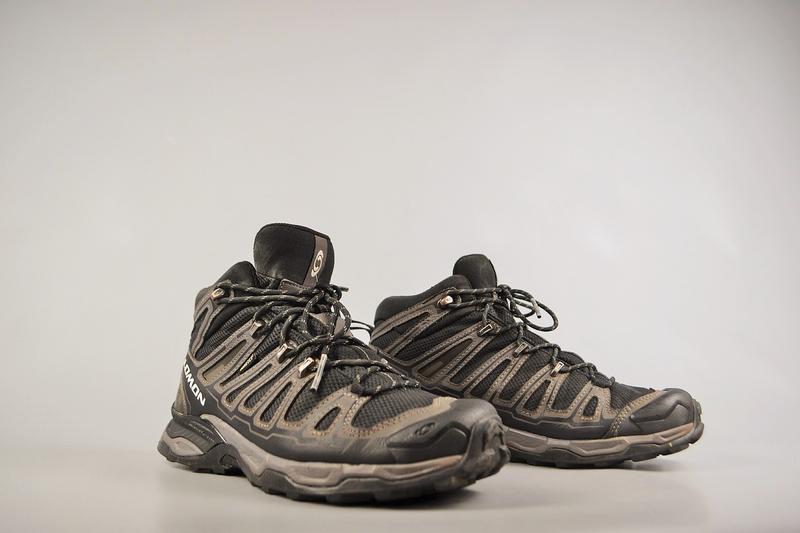 Мужские ботинки salomon x ultra mid gtx, р 42.5 - Фото 2