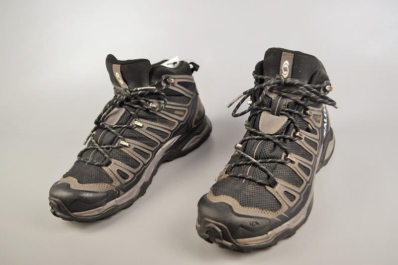 Мужские ботинки salomon x ultra mid gtx, р 42.5 - Фото 3