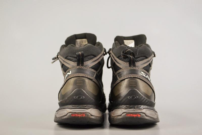 Мужские ботинки salomon x ultra mid gtx, р 42.5 - Фото 4