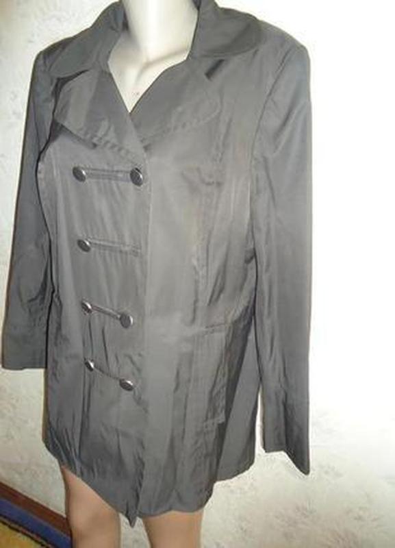 Куртка -плащик - Фото 2