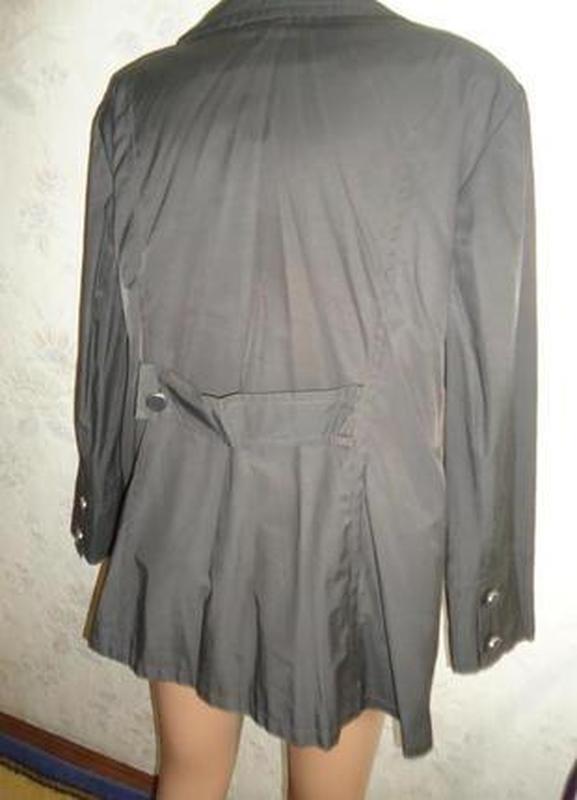 Куртка -плащик - Фото 5