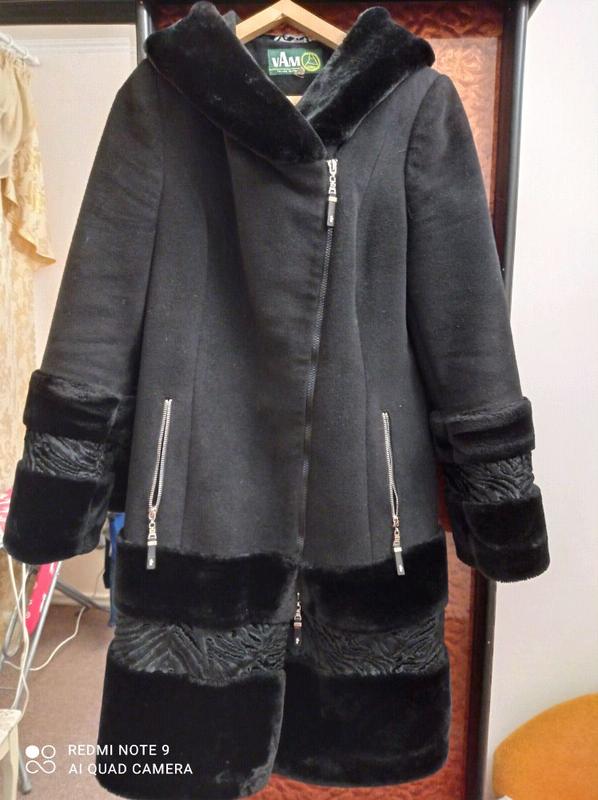 Красивое,стильное зимнее пальто,48 размер