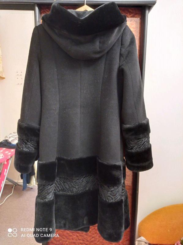 Красивое,стильное зимнее пальто,48 размер - Фото 2