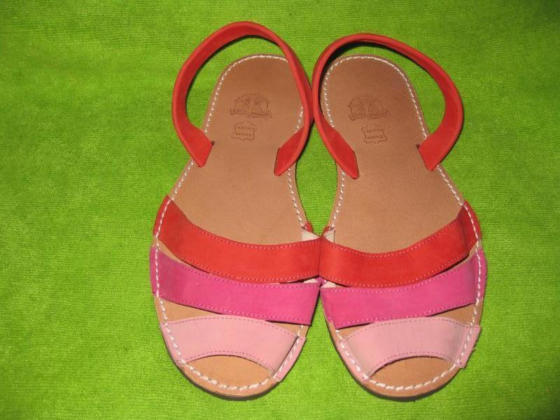 Босоножки,сандалии menorca,р.39 - Фото 2