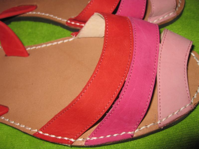 Босоножки,сандалии menorca,р.39 - Фото 4