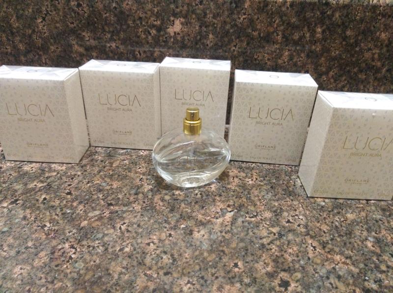 Туалетная вода Lucia Bright aura oriflame 50ml Люсия Брайт Аура