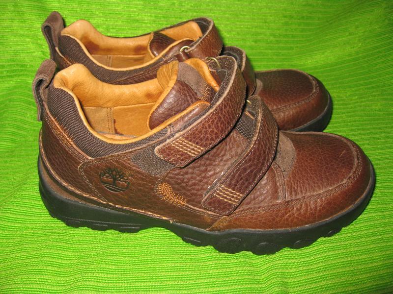 Ботинки timberland,р.35-36 стелька 23см  кожа