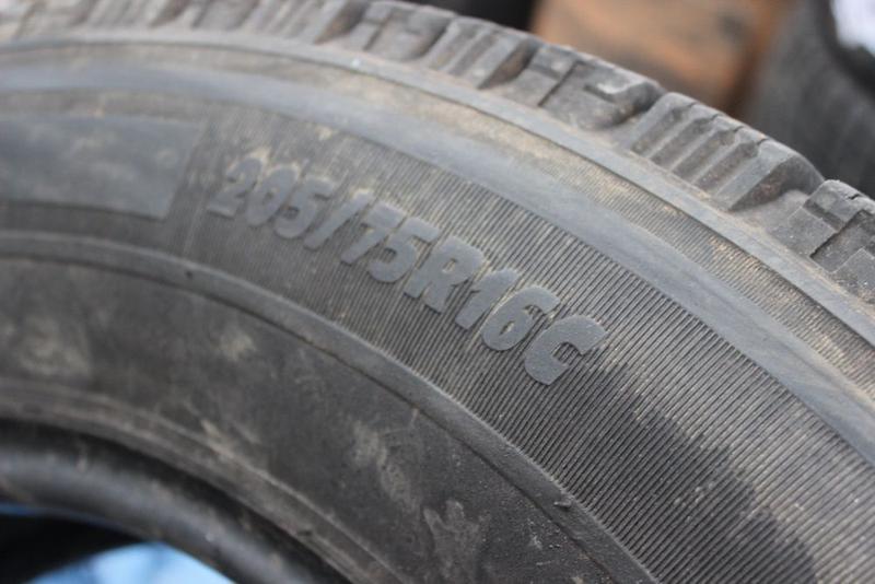 R16C=205-75-R16С Michelin Agilis грузовая зимняя резина шины G... - Фото 3