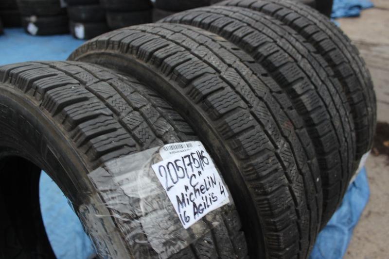 R16C=205-75-R16С Michelin Agilis грузовая зимняя резина шины G... - Фото 4