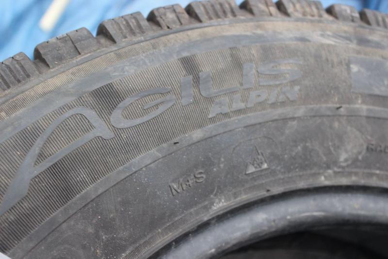 R16C=205-75-R16С Michelin Agilis грузовая зимняя резина шины G... - Фото 5