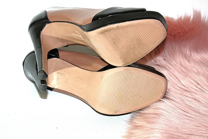 Босоножки новые сток квадратный носок шпильки высокий каблук g... - Фото 7