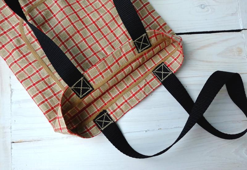 Сумка для покупок, эко сумка, торба, пляжная сумка, сумка шопп... - Фото 6