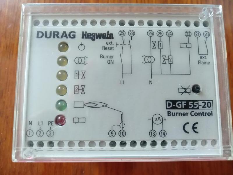 Блок управления горелками DURAG D-GF 55-20