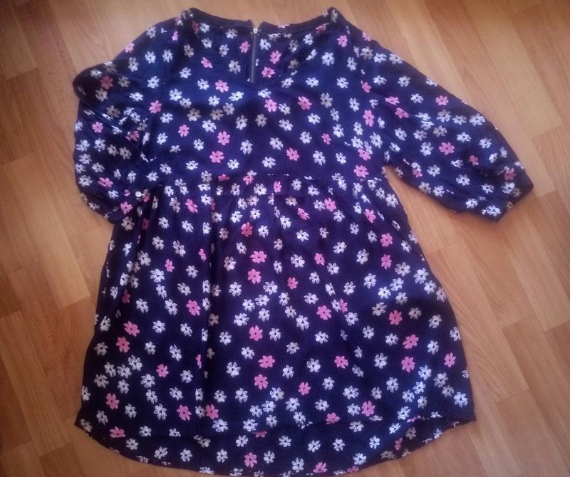 Платье туника большой 22 размер