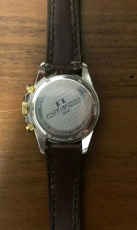 Часы наручные мужские JACQUES LEMANS - Фото 3