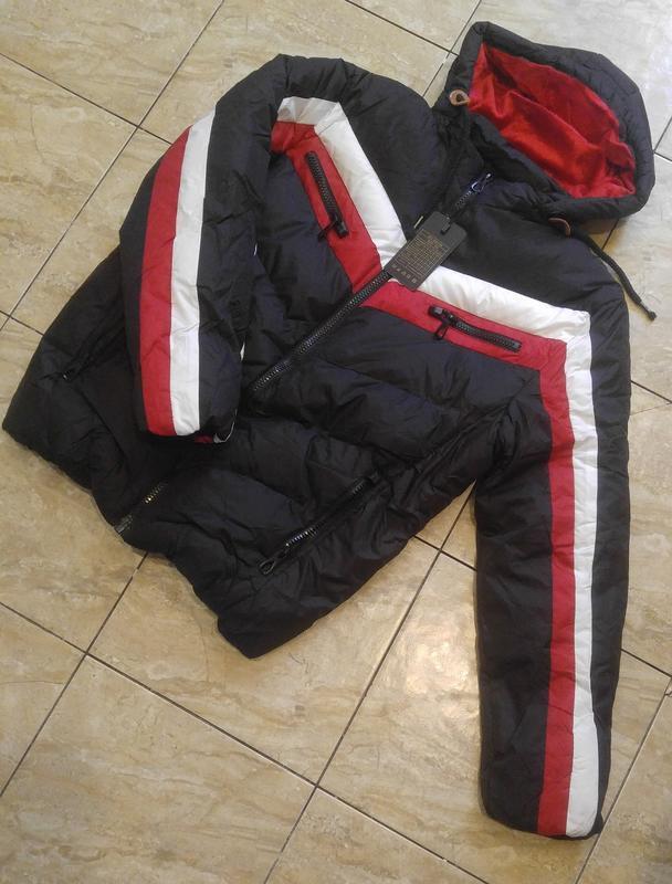 Стильная куртка зима -10***силикон*