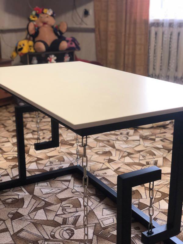 Тенсегрити стол ( на цепях)Лофт мебель - Фото 4