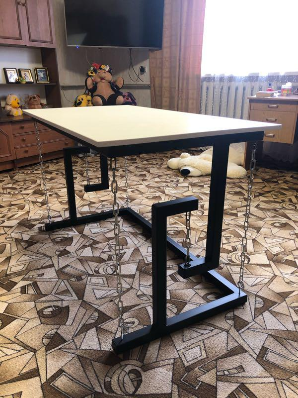 Тенсегрити стол ( на цепях)Лофт мебель