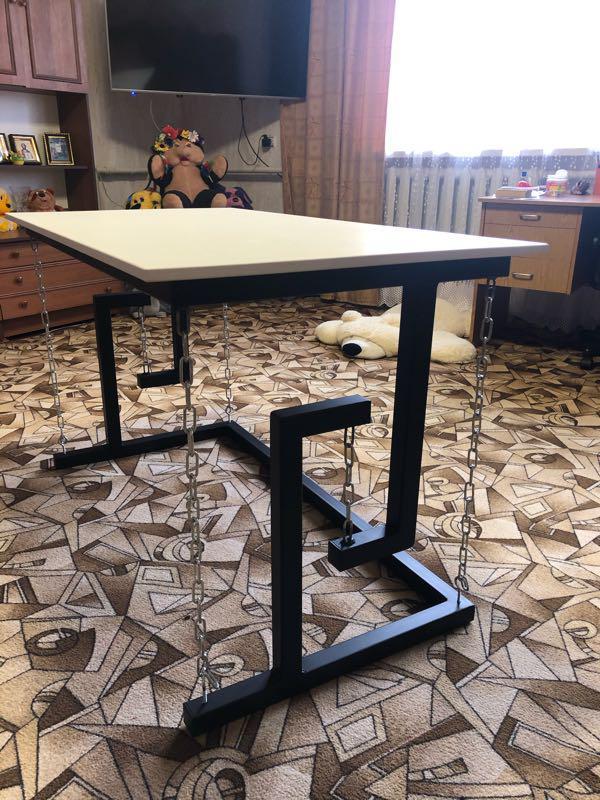 Тенсегрити стол ( на цепях)Лофт мебель - Фото 5