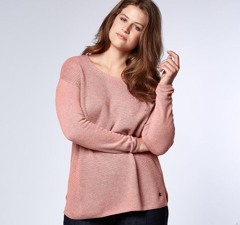 Шикарный нежный пуловер, от tchibo германия размер 48 евро=54-56